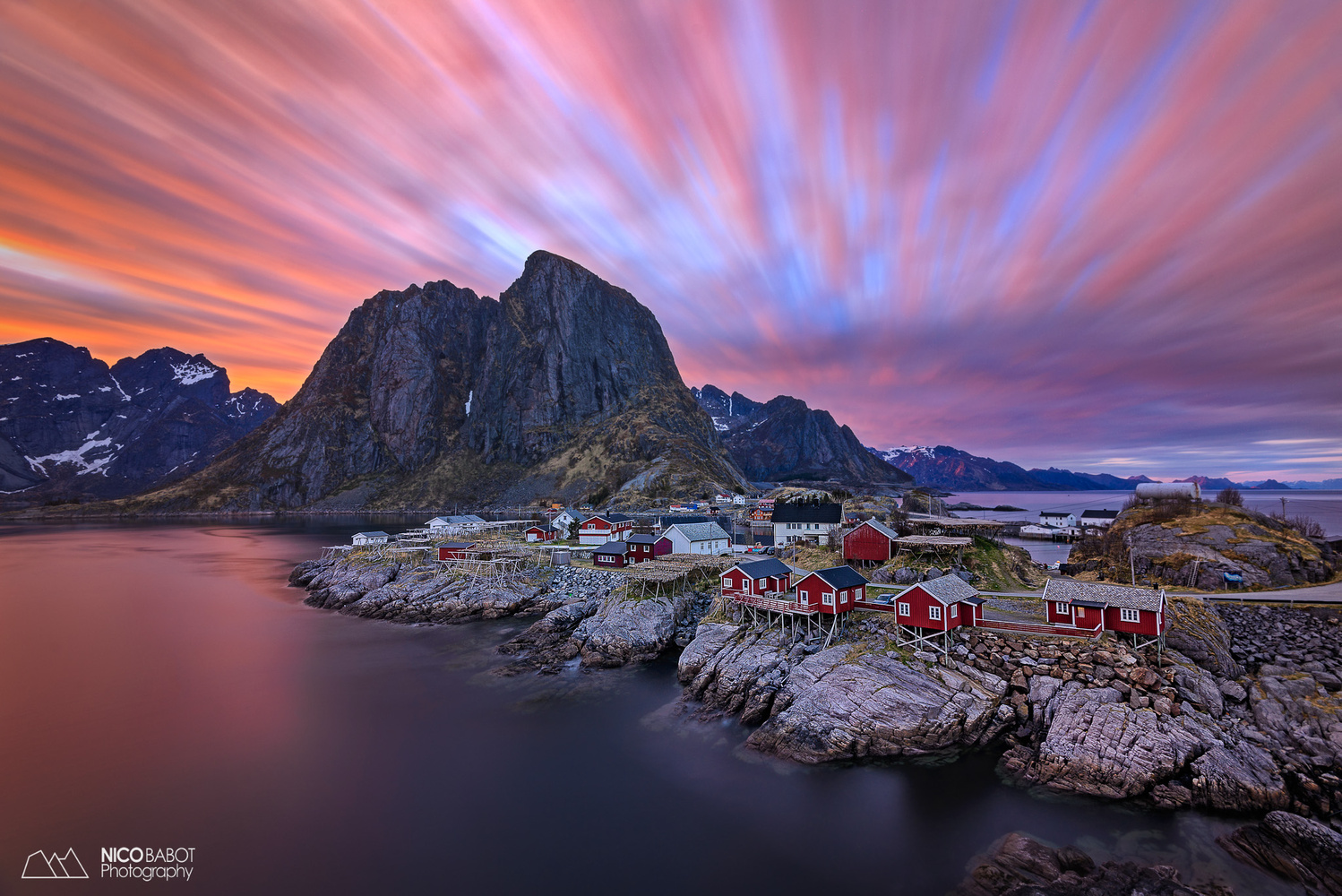 The longest sunset in my life. by Nico BABOT