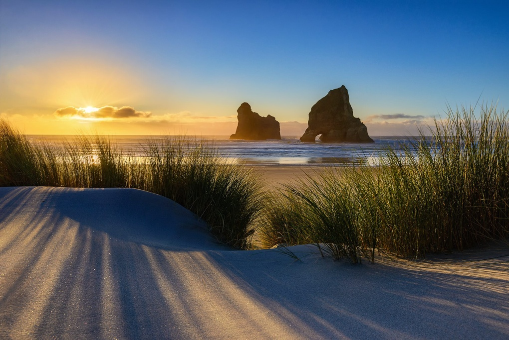 Wharariki Sunset by Nico BABOT