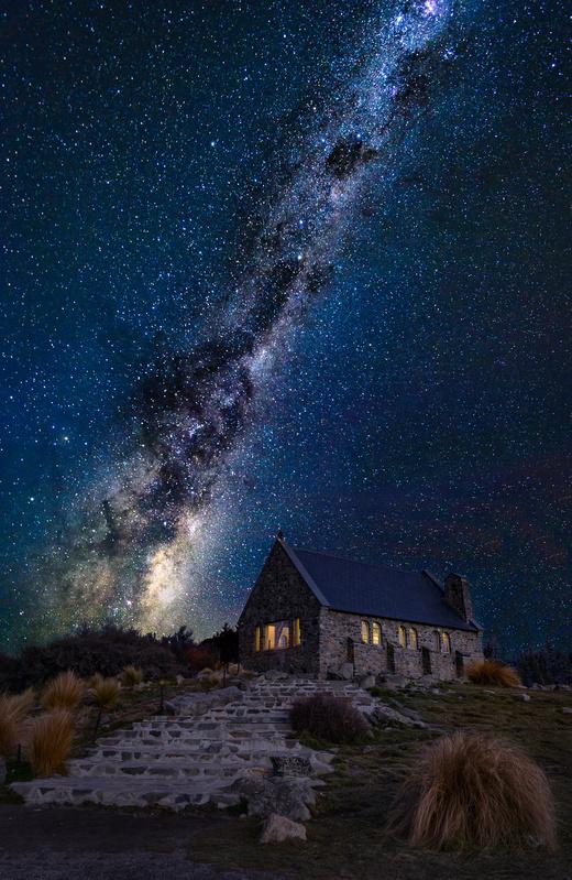 Milky church by Nico BABOT