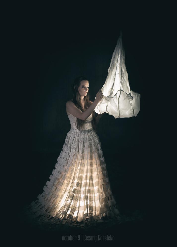 Fairy parachute by Cezary Korsieko