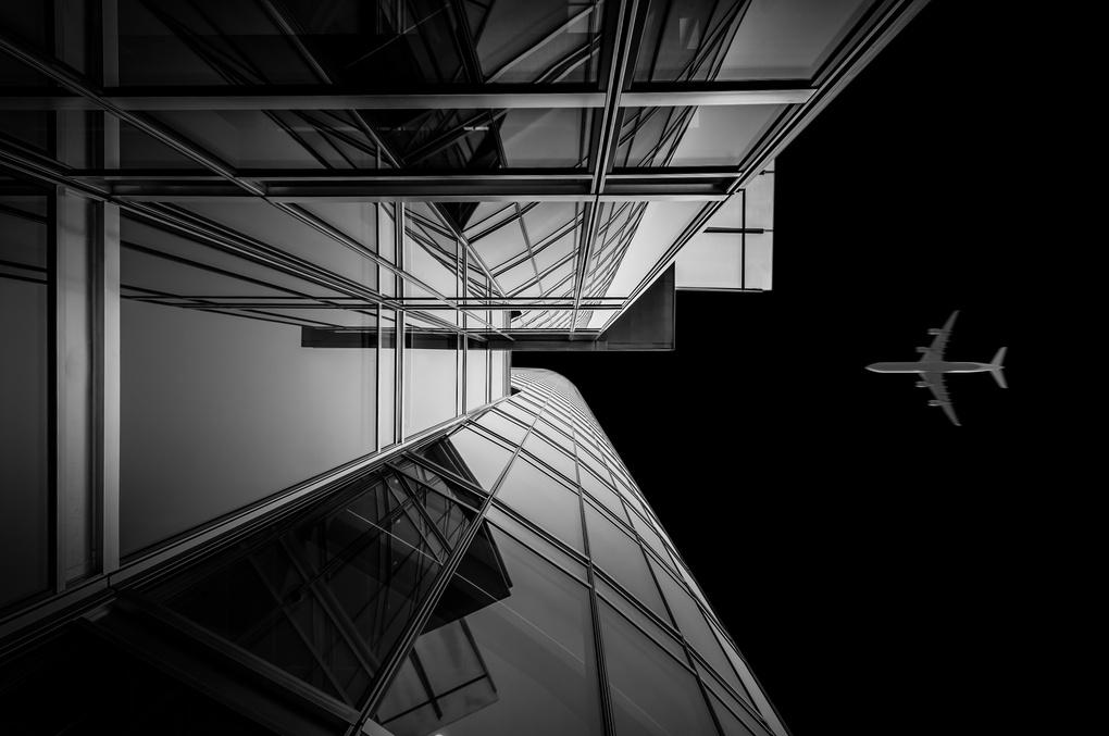 Destination: Top floor by Cezary Korsieko