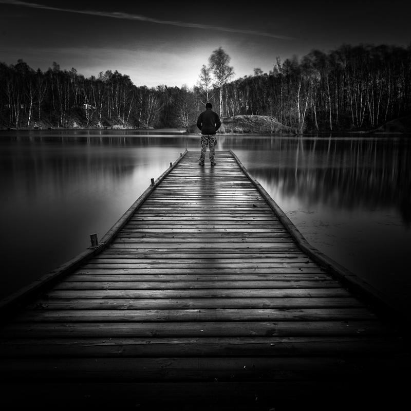 Alone by Cezary Korsieko