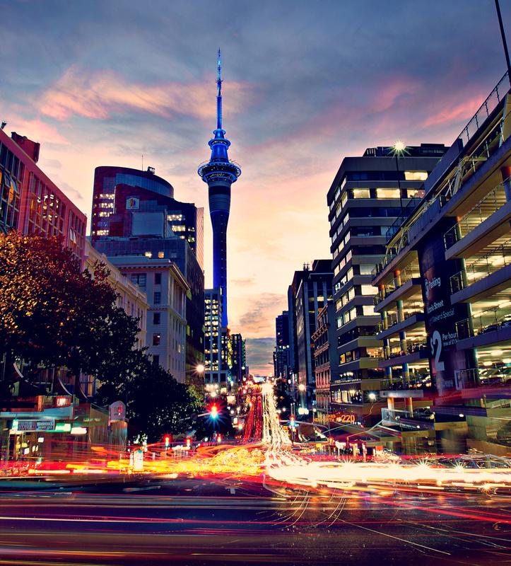 Auckland Timelapse by Maximilian Mesch
