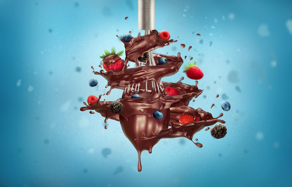 Chocolate Swirl by Kate Ignatenko
