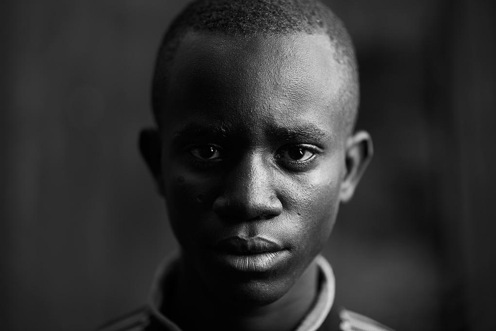 DRAMATIC PORTRAIT by Francis Mtey