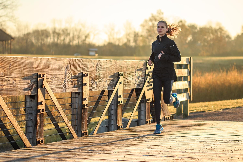 Morning Run by Andrew Warner