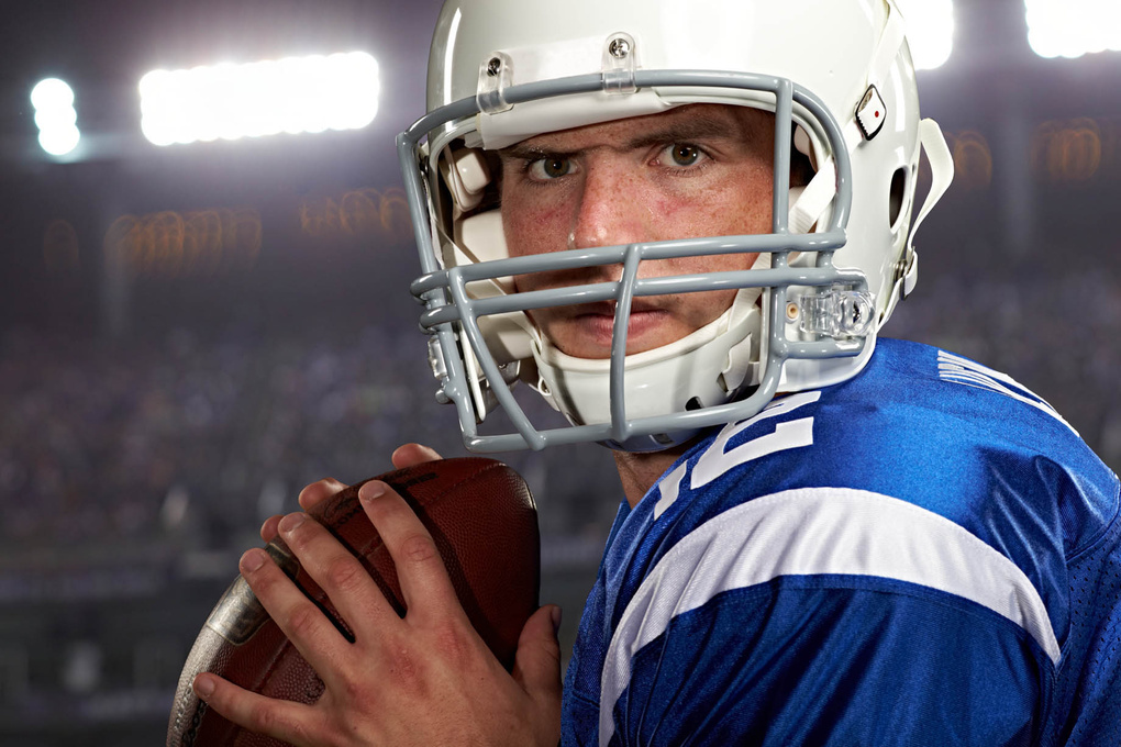 Andrew Luck for BodyArmor Superdrink photo by Monte Isom by Monte Isom