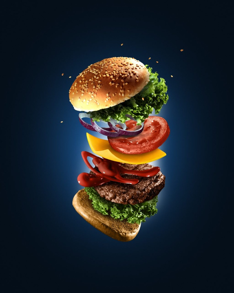 The Flying Burger by Alex Koloskov