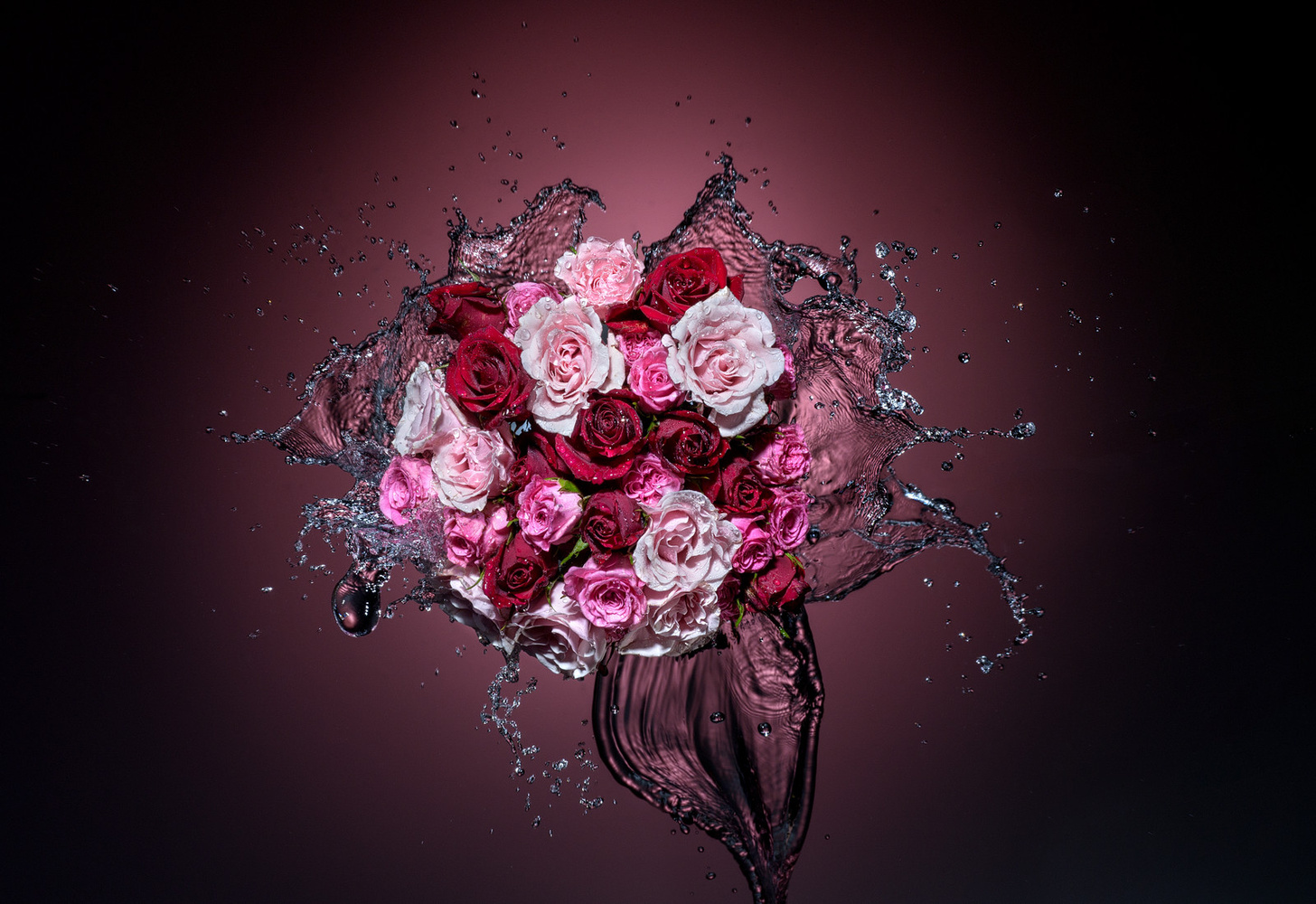 A splash of Roses by Alex Koloskov