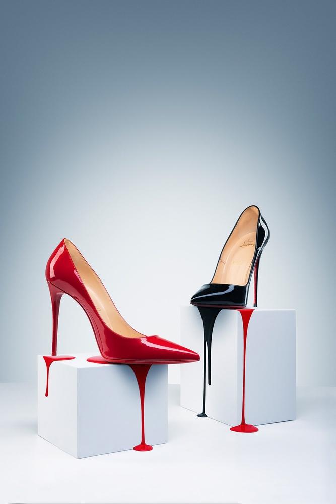 The bleeding shoes by Alex Koloskov