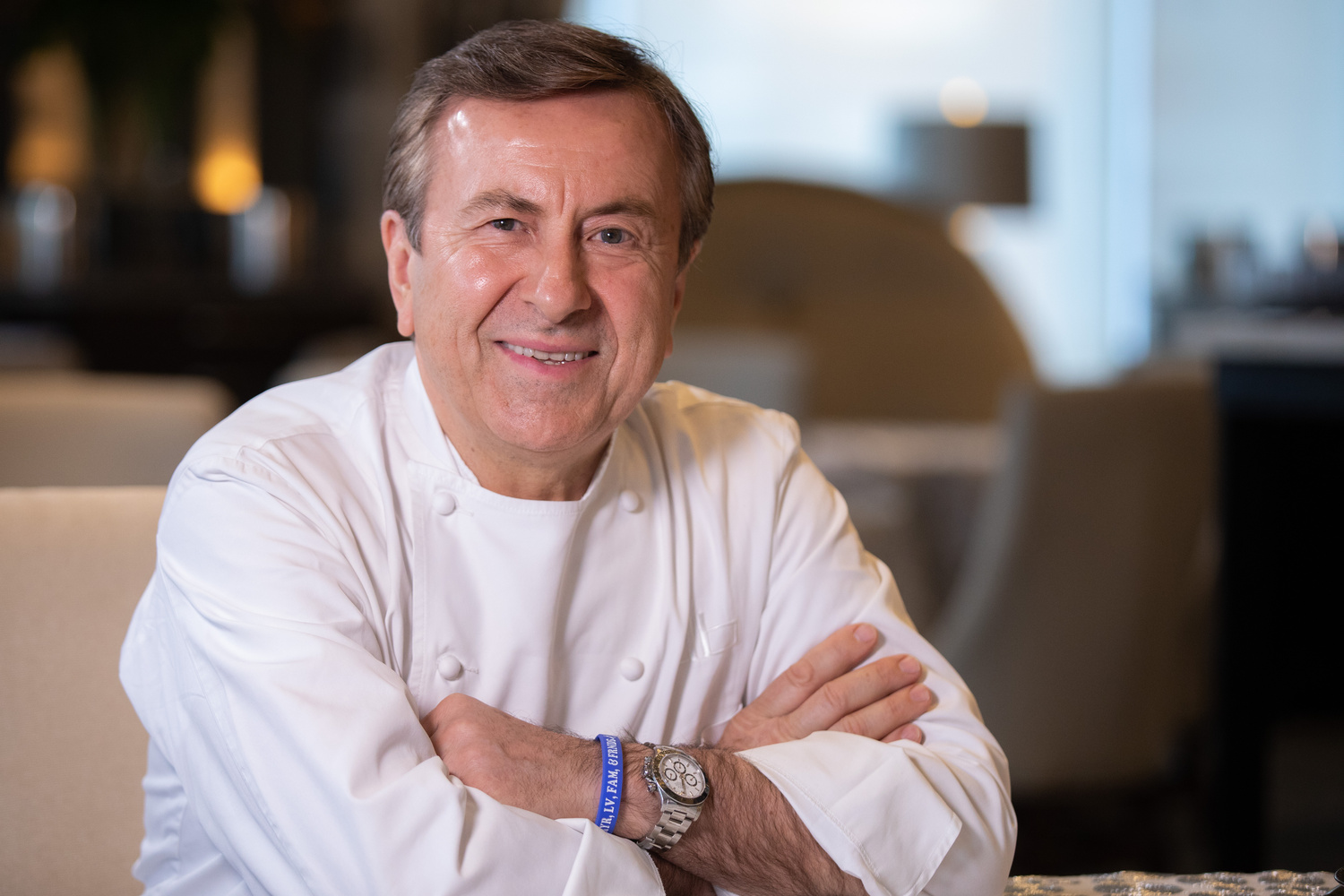 Chef Daniel Boulud by David Stephen Kalonick