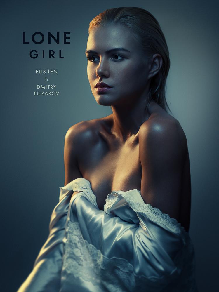 Lone girl by Dmitry Elizarov