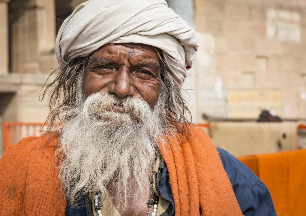 The Varanasi Man by Morten Opedal