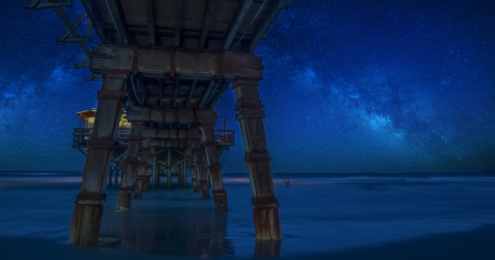 Pier to the Stars by Sky Neary
