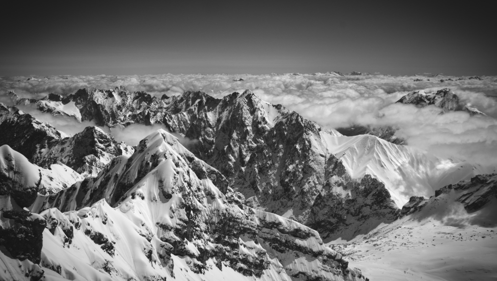Top of Zugspitze  by Sky Neary