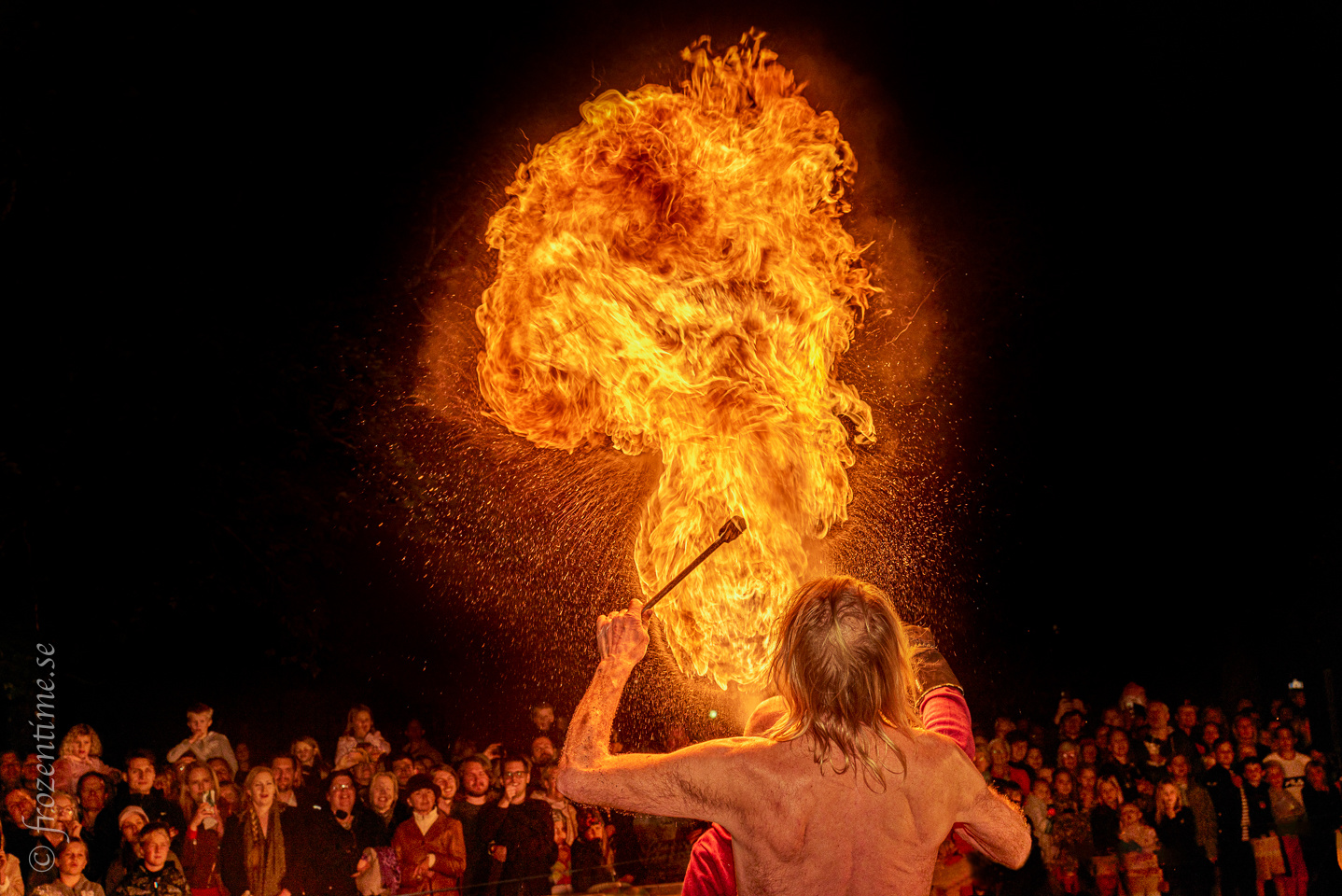 The fire breather by Mark Harris