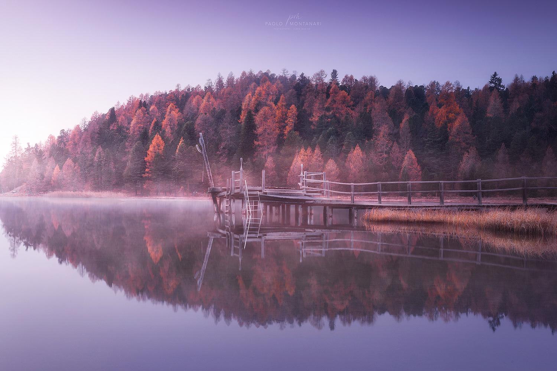 Mornin Lake by Paolo Montanari
