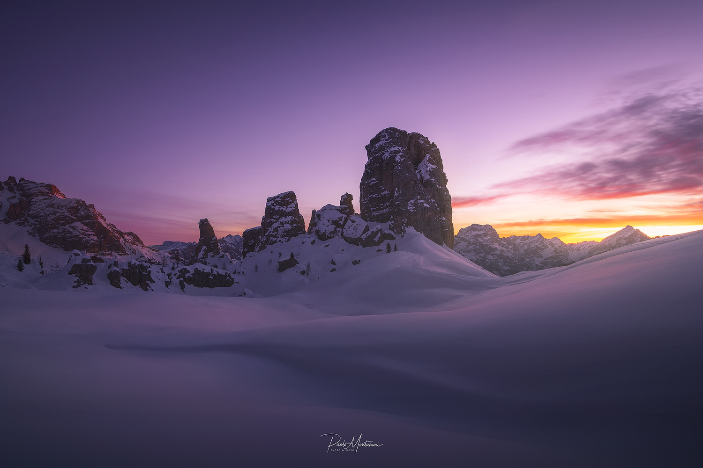 Sunrise in 5 Torri by Paolo Montanari