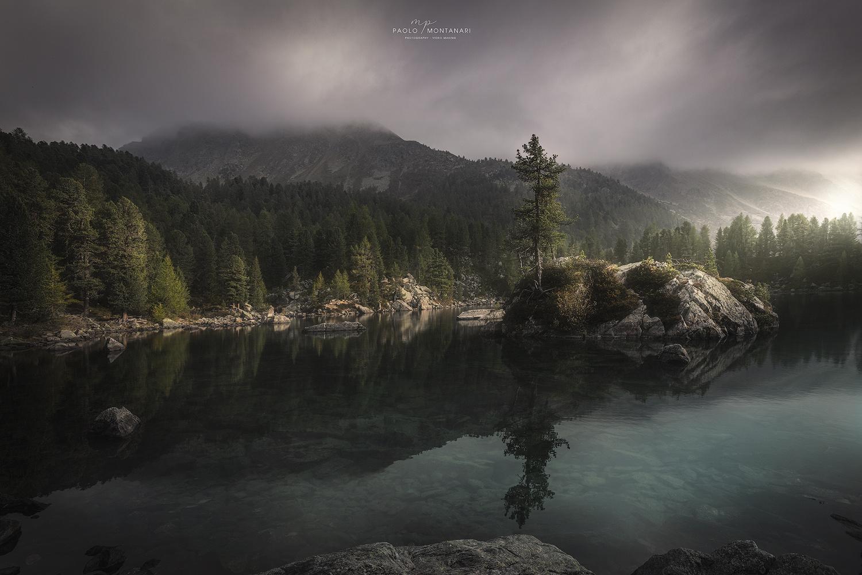 Saoseo Lake by Paolo Montanari