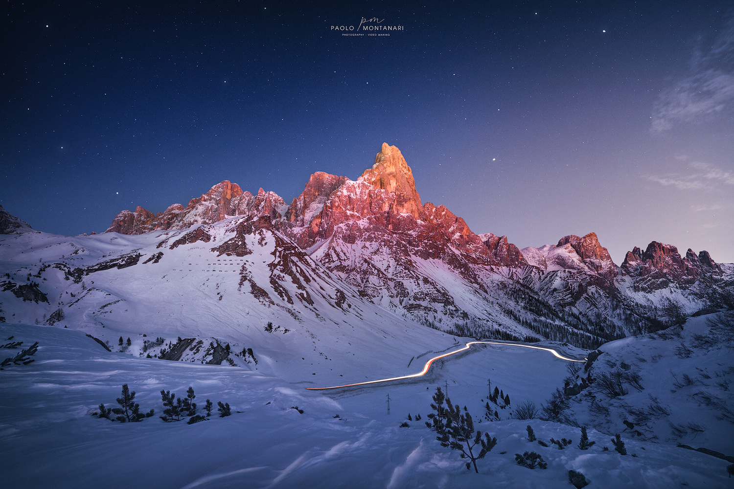 Passo Rolle by Paolo Montanari