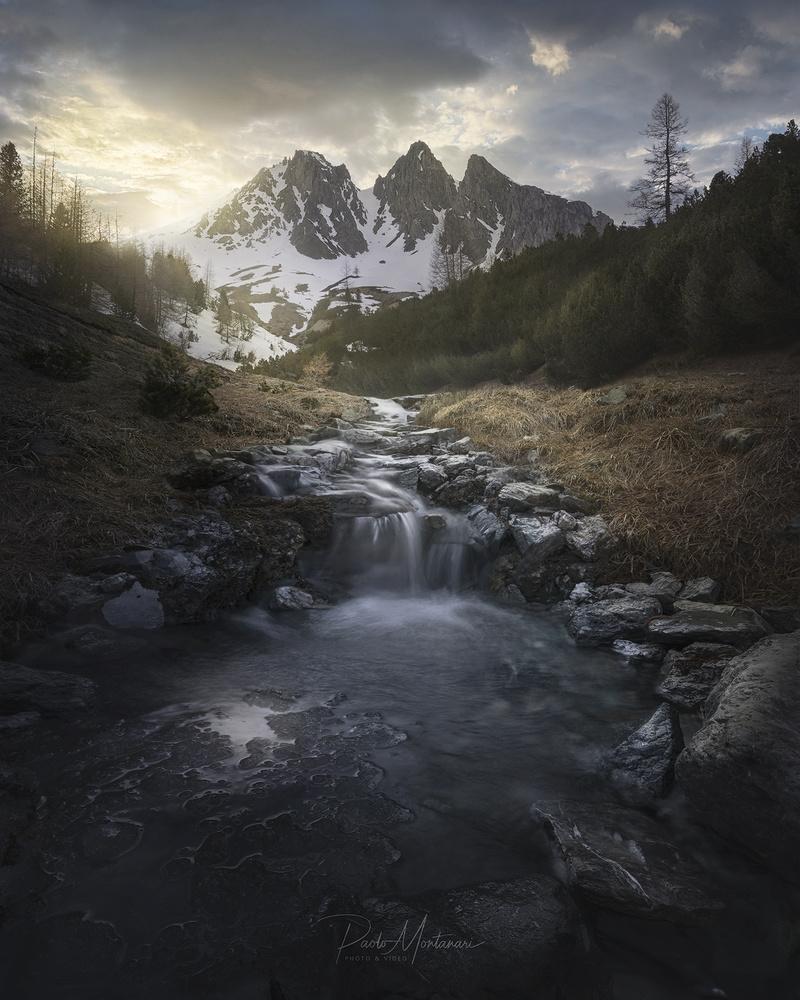 Waterfall by Paolo Montanari