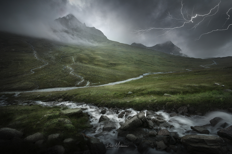 Mountain Storm by Paolo Montanari