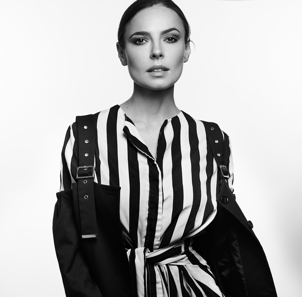 Black and White Fashion by Nechama Leitner