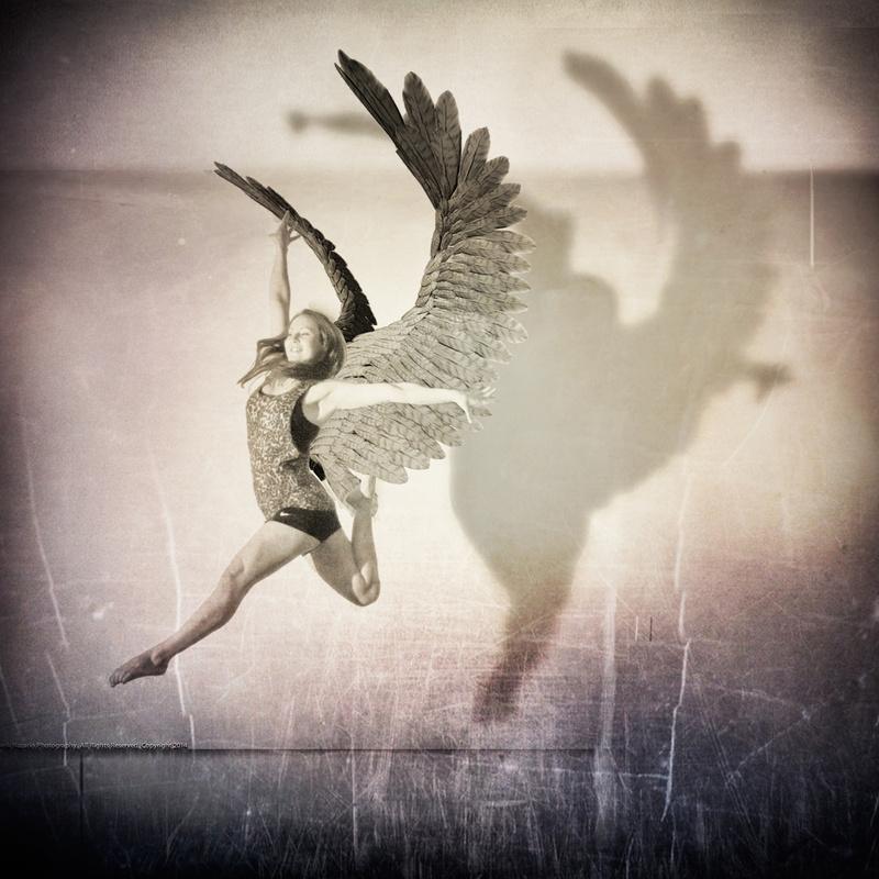Trampoline Angel by frank nazario