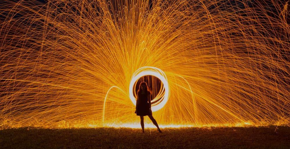 Fire girl by frank nazario