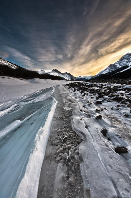 Frozen Shore by Alexander Roe