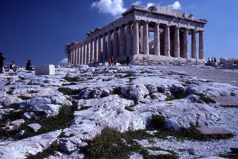 Parthenon - Athens, Greece by Jeff Burian