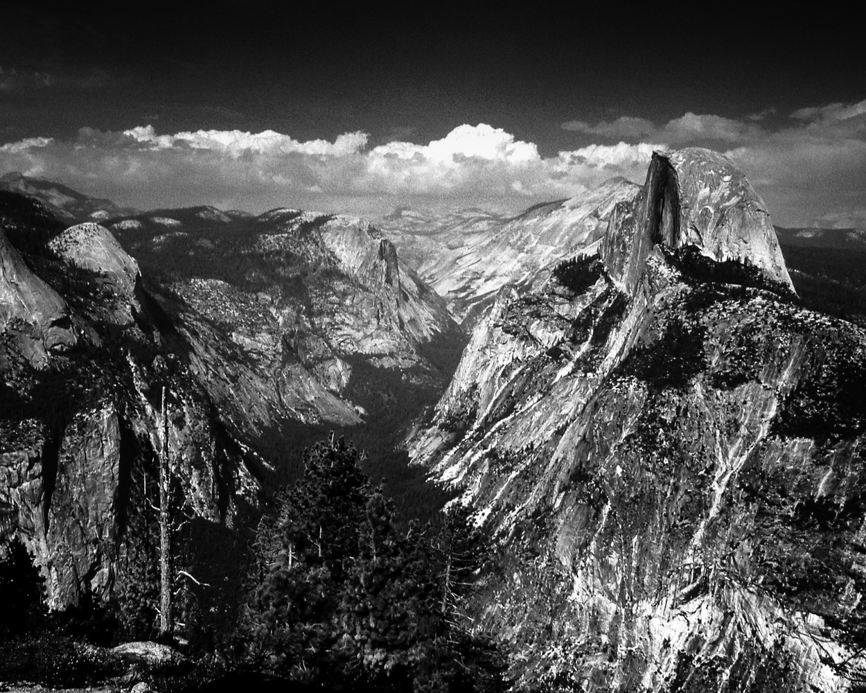 Half Dome from Glacier Point, Yosemite by Jeff Burian