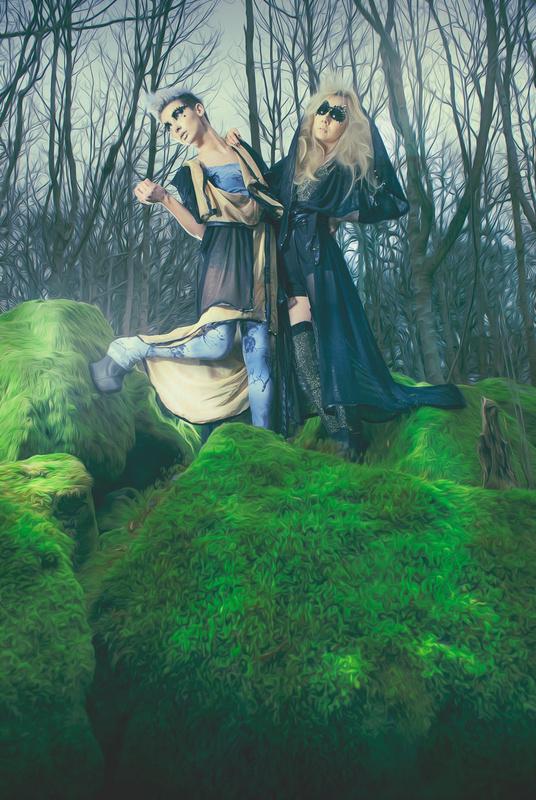 Lora Davis & Kimberley Megan by Luke Musharbash
