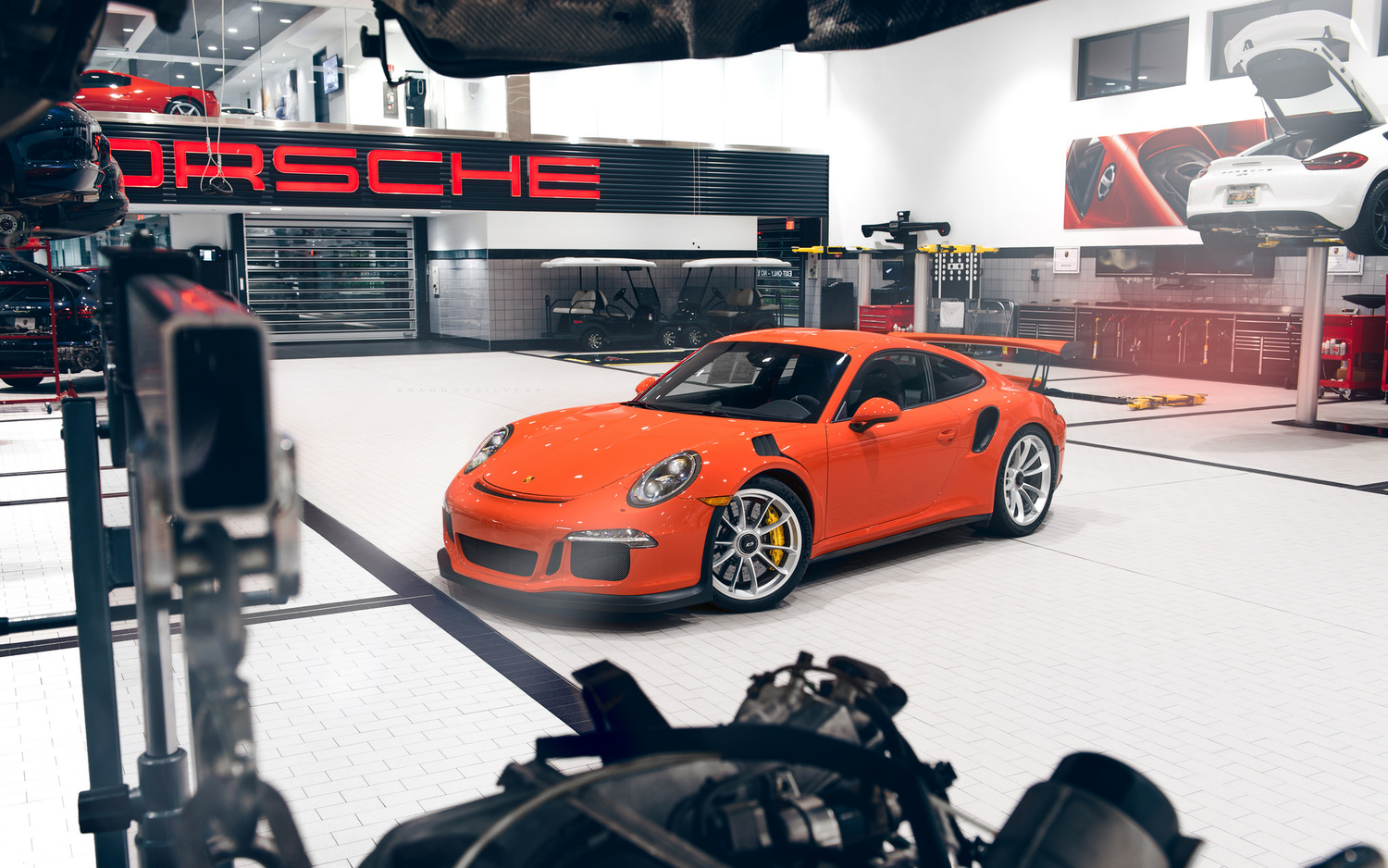 PORSCHE GT3 RS by Brandon Silvera