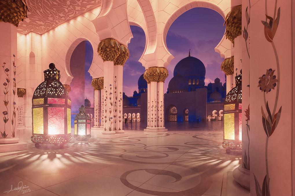 Ramadan Kareem by Nasser Ali