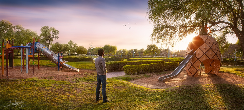 My Dream Playground by Nasser Ali