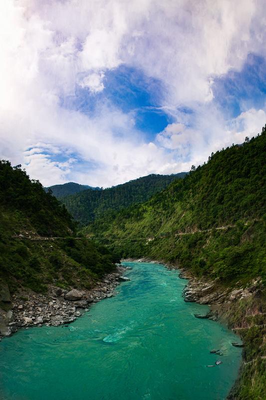 Through the mountains by pushpendra maurya