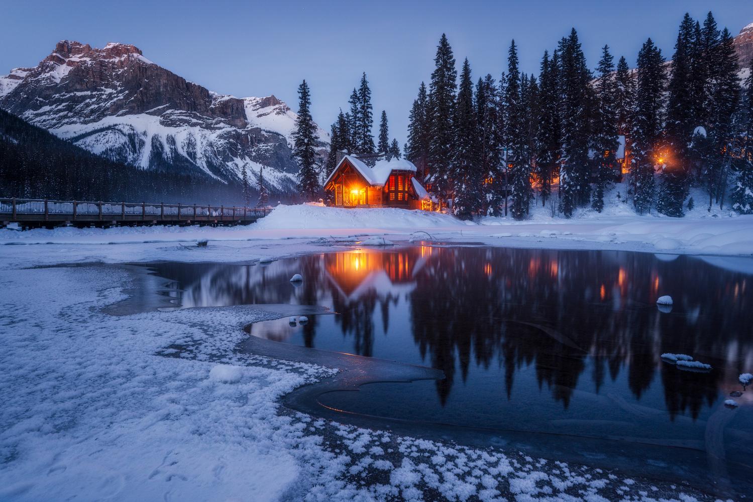 Lake House by Jose Marvin Evasco
