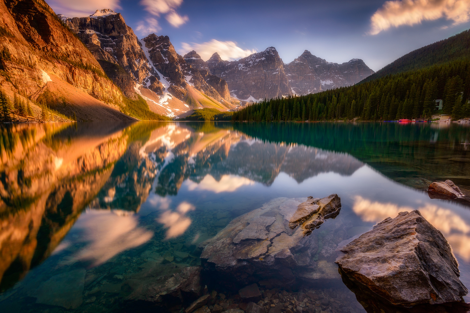 Moraine Lake by Jose Marvin Evasco