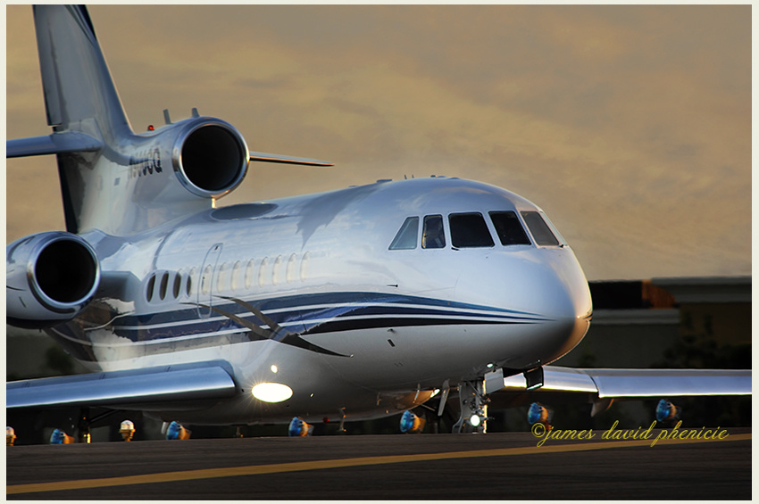 Falcon 900 EX by James Phenicie