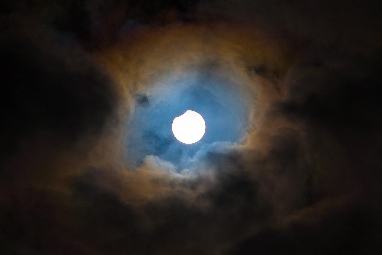 Solar eclipse august 11th 2018 by Tor Ivan Boine
