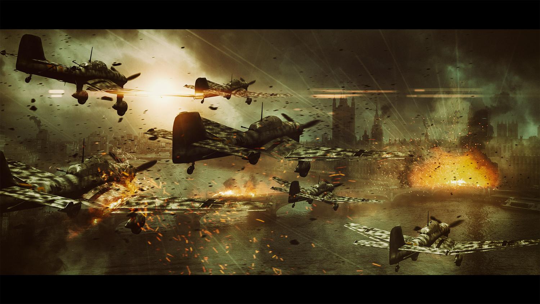 Attack on London by Slave Viktorijoski