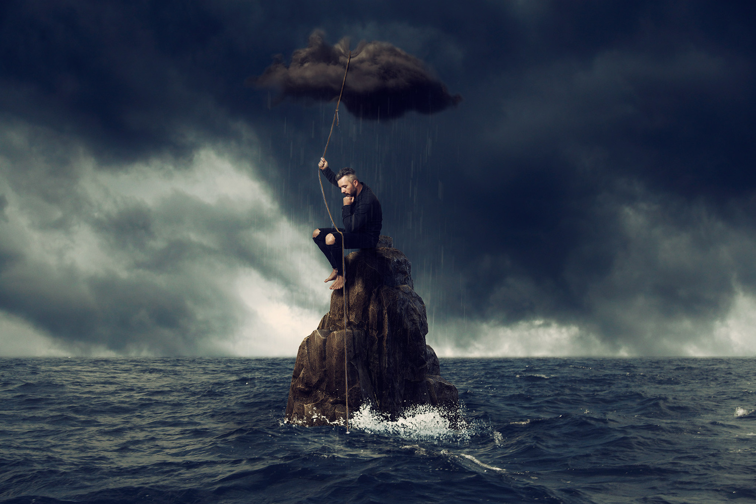 Let the rain wash away, all the pain of yesterday. by Slave Viktorijoski