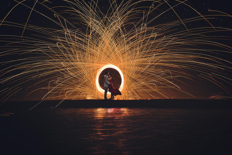Sparks of love by Carlos Garcia
