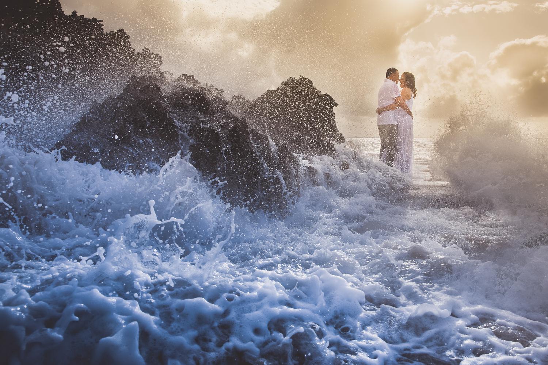 Love amongst chaos by Carlos Garcia