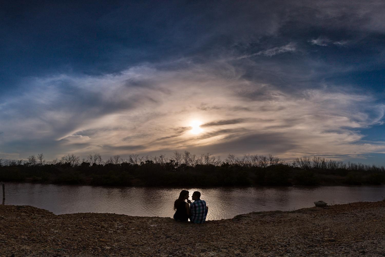 epic sunset by Carlos Garcia