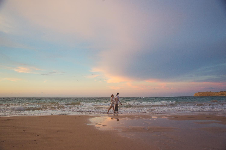 on the beach by Carlos Garcia