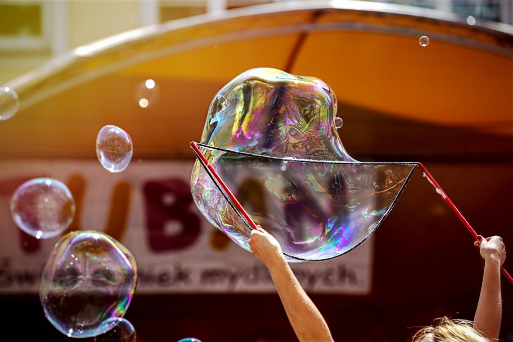 Happy Bubbles by Jakub Chmielewski