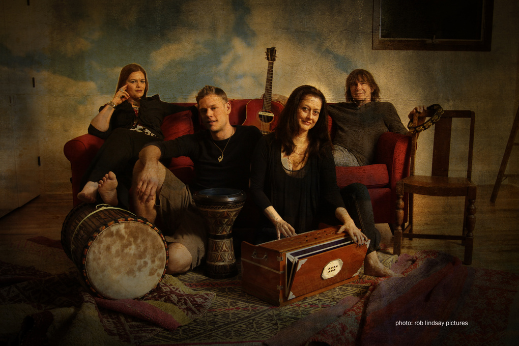Kenneth's Kirtan band by Rob Lindsay