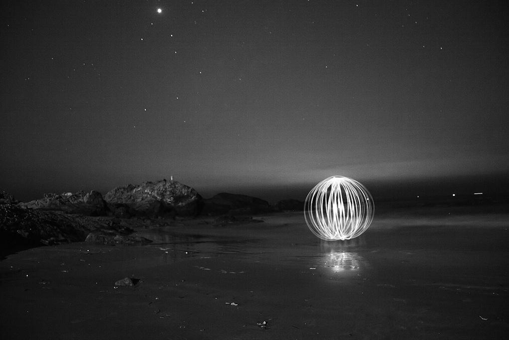Ball of Light  by Shaktivrat Khanvilkar
